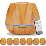 Arome ultrasonique d'humidificateur d'air de grain en bois
