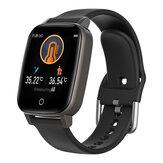 BlitzWolf® BW-HL1T Vücut Sıcaklığı Ölçümü Otomatik Kalp Hız Monitör Nefes Eğitim Hava Durumu Ekran BTV5.0 Akıllı Saat