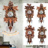Relógios de parede Relógio de pêndulo de cuco Art Craft Relógios de madeira pendurados decoração para casa