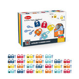 Onshine Early Education Unlock Toys Set Montessori Infant Early Education Alphanumeric Unlock Toys For 3-6 Years Old Children