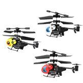 Dwi HW7001 3.5CH Mini التحكم عن بعد مراقبة هليكوبتر كوادكوبتر للأطفال اللعب في الهواء الطلق