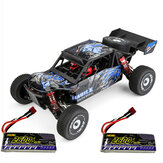 Wltoys 124018 1:12 RTR Yükseltildi 7.4V 2600mAh 2.4G 4WD 60km/h Metal Şasi RC Araba Araç Modelleri İki/Üç Bataryalar