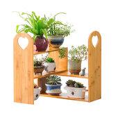 Flower Plant Pot Rack Stand Bücherregal Regal Eckhalter Küche Indoor