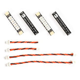 4 PC Matek System 2812ARM-4 5V WS2812 LED Strip RC Night Light w/ 4 Lamps for RC Drone FPV Racing