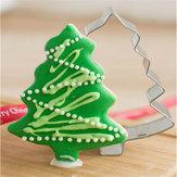 Acciaio inox albero di Natale della muffa cookie cutter