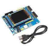Carte de développement double caméra STM32F103 Cortex-M3 ARM Carte de développement STM32 Carte d'apprentissage pour microcontrôleur V3.0