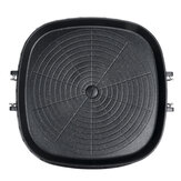 Portable BBQ Grill Tray Aluminum Cooking Plate Barbecue Griddle Pan