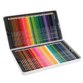 72 Lápis de Cor Desenho Da Arte Soft Lápis de Cor Caneta de Chumbo Solúvel Em Água Conjunto de Artigos de Papelaria Arte Suprimentos