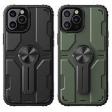 Nillkin for iPhone 12 Pro Max Case Bumpers with Removable Stand Shockproof PC + TPU Protective Case