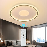 DIGOO DG-MD1805 36W 40CM LED Ceiling Light Concentric Circles Dimmable Ceiling Lamp w/Remote AC185-265V