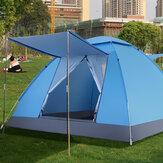 4 व्यक्ति 2 के लिए * 2 * 1.25M स्वचालित सेट अप परिवार आउटडोर कैम्पिंग तम्बू UV सबूत शिविर टेंट अल्ट्रालाइट