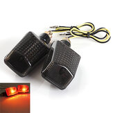 Motorcycle Motor Bike Turn Signal Indicators Light Lamp Amber