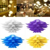 Modern Lotus Pendant Chandelier Pendant Ceiling Lamp Hanging Light DIY Lampshade