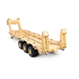 HG P806 RTR Pre-Assembled TRASPED 1/12 Heavy Equipment Semi Trailer for U.S M747 RC Car Vehicles Model