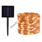 8 modalità 5m 50 LED solare Power Fairy Lights String Lamps Party Wedding Decor Garden