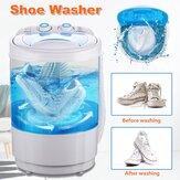 Laveuse portative de machine à laver de chaussures de 4,5 kg pour nettoyeur de chaussures paresseux