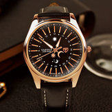 YAZOLE YD368 Sun and Moon 24 Hours Pointer Creative Watch