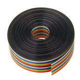 Cavo da 5 m da 1,27 mm Cavo a nastro da 20 p Cavo di arcobaleno a colori