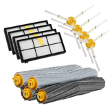 Bagian Roller Brushes Filter Side Brushes Set untuk iRobot Roomba 800 Series