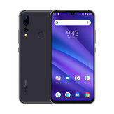 UMIDIGI A5 Pro Global Version 6.3 Pollici FHD + Waterdro Display Android 9.0 4150mAh Telecamere posteriori triple 4GB 32GB Helio P23 4G Smartphone