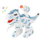 666-24A Electric Mechanical Tyrannosaurus Colorful Light Artillery Simulated Call RC Toy