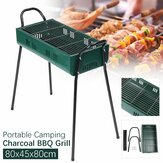 80x45x80cm Portable Charcoal BBQ Grill Iron Stove Kebab Barbecue Patio Camping
