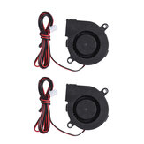 Anet® 2 Pcs 24V DC 5015 50x50x15mm Kipas Pendingin Blower Knalpot 2-pin