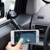 Bakeey™ ATL-3 2 in 1 Magnetic Phone Stand Sucker Car Air Outlet Holder for iPhone Samsung