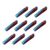 Drillpro 10 pcs HRC45 Azul Nano MGMN200-G 2mm Carboneto de Inserção para MGEHR / MGIVR Turning Tool Holder