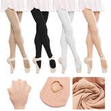 Girls Ladies Child Pink Black White Skin Ballet Tap Dance Socks Tights Pantyhose
