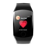 XANES® Q11 Bracelet de sport avec remise en forme, montre intelligente étanche à écran tactile 1,3 ''