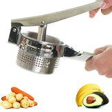 Purée de pommes de terre en acier inoxydable purée de légumes ail presseur maison cuisine outils accessoire