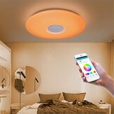 RGB LED bluetooth Play Music Ceiling Light Dimmable APP Intelligent Voice Remote