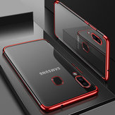 Bakeey Shockproof Plating Bumper Silicone Protective Case For Samsung Galaxy A40 2019