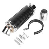 38mm-51mm Motorcycle Stainless Steel Exhaust Muffler Pipe with Silencer Kit Universal