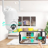 HD 1080P WIFI IP Camera Wireless PTZ ZOOM CCTV Home Security 60M IR Camera Waterproof IP66 Outdoor