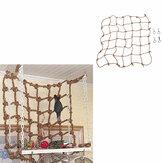 Pet Parrot Bird Net Cage Climbing Toy Swing Ladder Ara Play Hanging Rope Hook