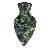 Quick-dry Fac Mask Windproof Riding Military Tactical Headband Sunproof Neck Brace Camouflage Triangle Towel