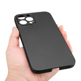 Bakeey for iPhone 12 Pro Max Case Silky Smooth Micro-Matte Anti-Fingerprint Ultra-Thin with Lens Protector PC Protective Case