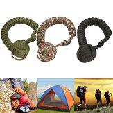 Outdoor Survival Edelstahl Kugelschlüsselhalter Keychian Ring
