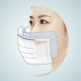 120 Pieces Disposable Mask Inner Cotton Pad Gasket Anti-dust Filter For Universal Mask