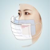 120 Parça Tek Kullanımlık Maske Iç Pamuk Pad Conta Evrensel Maske Için anti-toz Filtresi