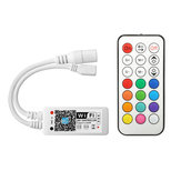 ARILUX® SL-LC 09 Super Mini LED WIFI APP Controller + RF Remote Control For RGB LED Strip DC9-28V