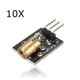 10Pcs KY-008 Laser Transmitter Module AVR PIC Geekcreit for Arduino - products that work with official Arduino boards