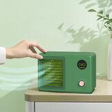 400 ml klimatyzator 3 prędkości 7 kolorowe światło 2000 mAh Mini USB wentylator chłodzony wodą wentylator natryskowy