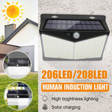 Waterdichte LED Solar Light Body Induction Outdoor Night Wandlamp voor Garden Fence Patio