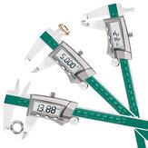 DANIU Digital Display Caliper acciaio 0-150MM 1/64 Fraction / Pollici / Millimeter IP54 Impermeabile ad alta precisione 0,01 MM