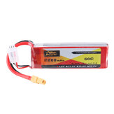 ZOP Power 7.4V 2200mAh 60C 2S Lipo Battery XT60 Plug for RC Drone