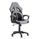 BlitzWolf® BW-GC3 Racing Style Gaming Chair PU + Mesh Material Grey Color Streamlined Design Adjustable Height Widened Seat Home Office