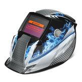 Solární automatické ztmavnutí svařovací helmy svářeč maska grind ochranný štít